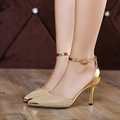 Two Piece Metal Toe Pumps