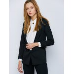 Shawl Collar Cuffed One Button Blazer deal