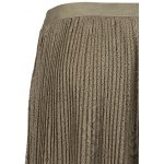 Pleated Mesh Panel Lace Skirt deal