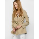 Flap Pocket Drawstring Trench Jacket deal