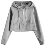 Hooded Cropped Sports Jacket deal