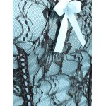 Underwire Lace Panel Steel Boned Corset deal