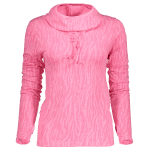 Dry-Quick Heathered Drawstring Pink Hoodie deal