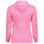 best Dry-Quick Heathered Drawstring Pink Hoodie