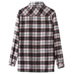 best Floral Embroidered Patched Tartan Shirt