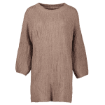 Relaxed Fit Long Sleeve Knitted Tunic Dress deal
