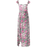 Maxi Off Shoulder Floral Beach Dress with Slit deal
