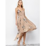 Floral Maxi Handkerchief Casual Slip Dress for sale