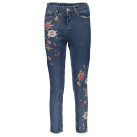 Straight Leg Embroidered Jeans deal