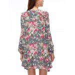 Keyhole Floral Swing Boho Tunic Dress deal