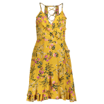 Ruffled Cami Floral Skater Dress deal