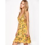 Ruffled Cami Floral Skater Dress for sale