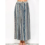 cheap Printed Long Boho Skirt