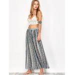 Printed Long Boho Skirt photo