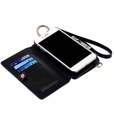 Multifounction Faux Leather Card Slot Flip Wallet Case For iPhoneCoin Purse &amp; Card Holder<br>Multifounction Faux Leather Card Slot Flip Wallet Case For iPhone<br><br>Type: Phone Bags &amp; Cases<br>For: Casual<br>Material: Faux Leather<br>Closure Type: Zipper &amp; Hasp<br>Weight: 0.200kg<br>Package Contents: 1 x Wallet