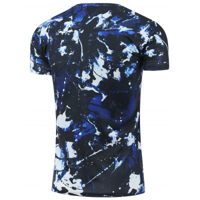 Crew Neck Short Sleeve Camouflage T-ShirtMens Short Sleeve Tees<br>Crew Neck Short Sleeve Camouflage T-Shirt<br><br>Collar: Crew Neck<br>Material: Polyester<br>Package Contents: 1 x Tee<br>Pattern Type: Print<br>Sleeve Length: Short<br>Style: Fashion<br>Weight: 0.2000kg