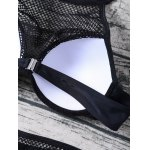 Fishnet Panel Molded Bikini photo
