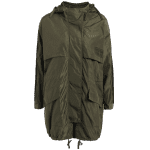 Hooded Drawstring Field Trench Coat deal