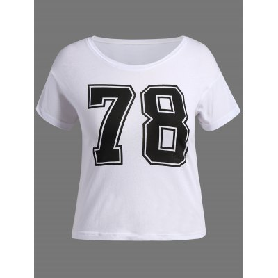 Number Graphic T-Shirt