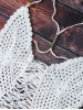 best Spaghetti Strap Hollow Out Crochet Bathing Suit