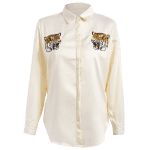 Tiger Embroidered Fitting Shirt deal
