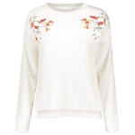 High-Low Embroidered Sweater deal