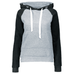 Color Block Drawstring Hoodie with Front Pocket deal