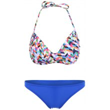 Womens's Sexy Colorful Floral Print Bikini Set Swimwear