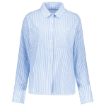 Hook and Eye Wrap Striped Shirt deal