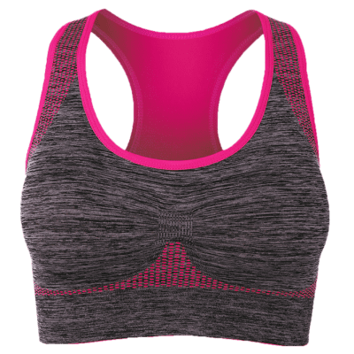 Racerback Padded Gym Sports Bra