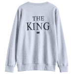 The King Graphic Sweatshirt deal