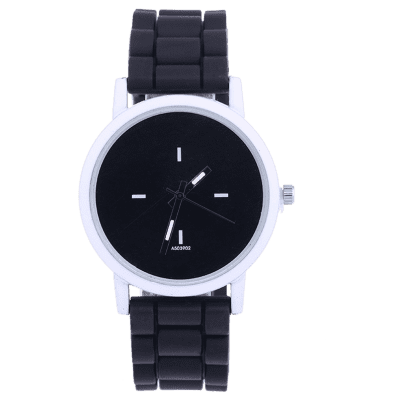 Casual Sport Round Silicone Watch