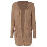 Hooded Ribbed Cardigan deal