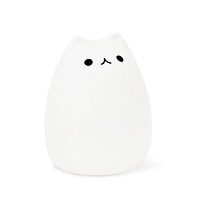 USB Charging Cat Cartoon LED Colorful Night Light