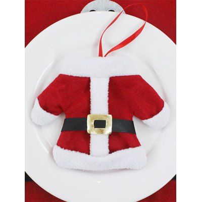 Christmas Table Decor Santa Clothes Tableware Holder BagTable Accessories<br>Christmas Table Decor Santa Clothes Tableware Holder Bag<br><br>Event &amp; Party Item Type: Party Decoration<br>Occasion: Christmas, Party<br>Package Contents: 1 x Tableware Bag<br>Size(L*W)(CM): 12*17<br>Weight: 0.0300kg