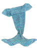 Stylish Knitted Mermaid Baby Blanket deal