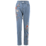 Floral Embroidered Jeans deal