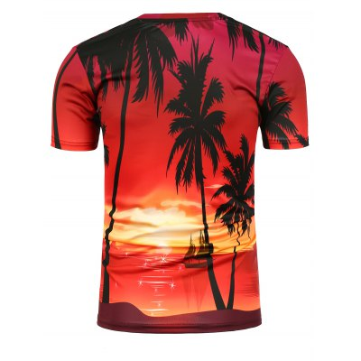 3D Setting Sun Printed Crew Neck T-ShirtMens Short Sleeve Tees<br>3D Setting Sun Printed Crew Neck T-Shirt<br><br>Collar: Crew Neck<br>Embellishment: 3D Print<br>Material: Cotton, Polyester<br>Package Contents: 1 x T-Shirt<br>Pattern Type: 3D<br>Sleeve Length: Short<br>Style: Casual<br>Weight: 0.1590kg