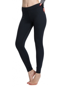 Simple Design Solid Color High Waist Sport Leggings For Women