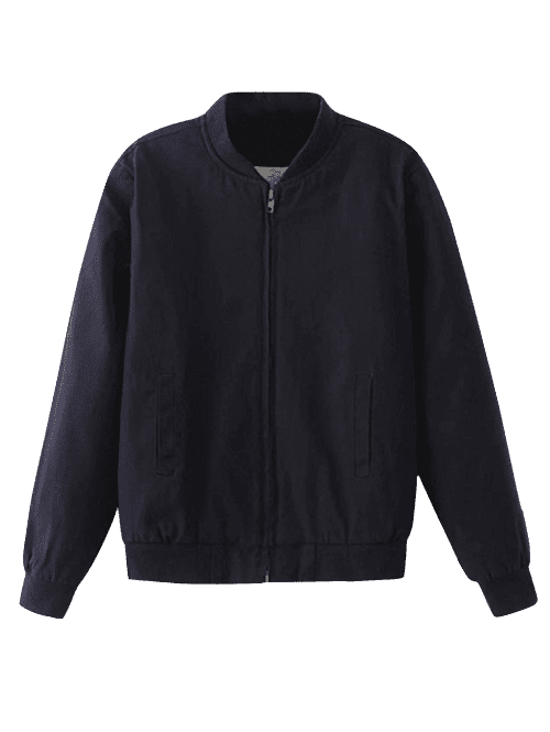 Fitting Thick Bomber Jacket