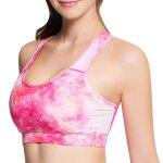 best Active Style Printed Padded Sport Bra For Women