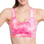 Active Style Printed Padded Sport Bra For Women