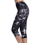 Chic High Waist Printed Sport Leggings For Women for sale