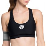 Simple Design Dry-Quickly Padded Sport Bra For Women