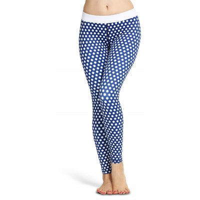 Polka Dot Skinny SportsLeggings