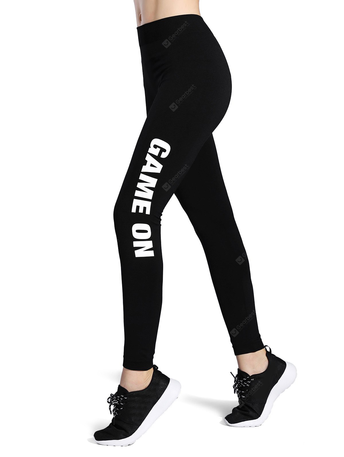 20170218093817 98366 - Game On Print Stretchy Sporty Leggings , GearBest