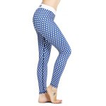 Polka Dot Skinny Yoga Leggings photo