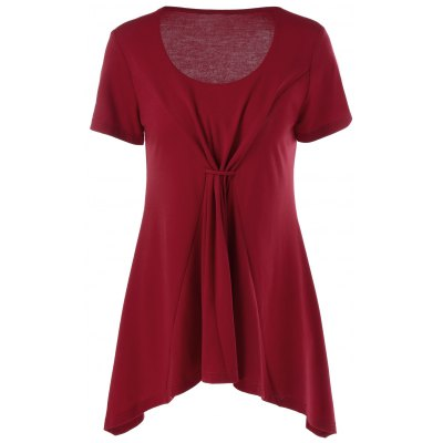 Scoop Neck Tunic T-Shirt