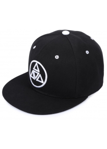 Stylish Triangle Round Embroidery Summer Sunscreen Baseball Cap For Men