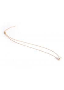 Fake Pearl Pendant Necklace